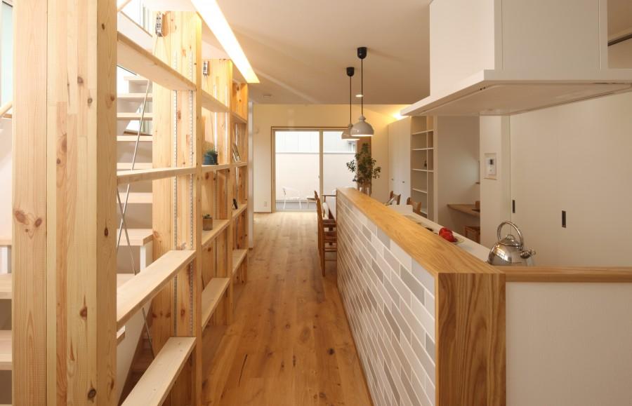 キッチン廊下 横